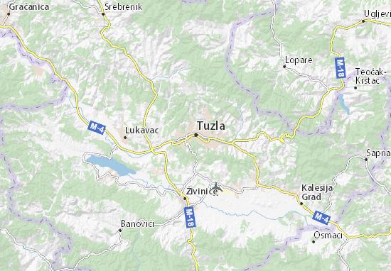 Mapas-Planos Tuzla