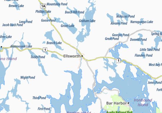 Mapas-Planos Ellsworth