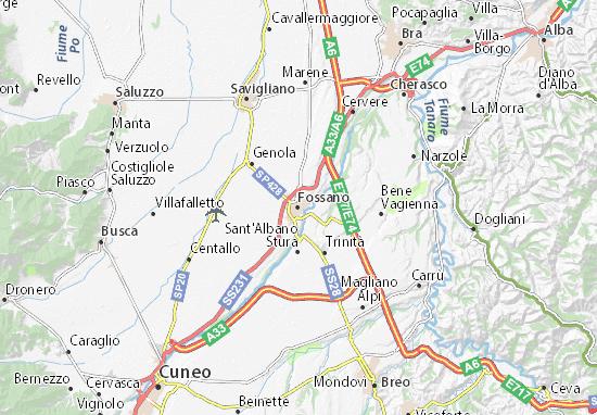 Mappe-Piantine Fossano
