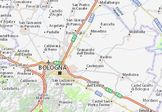 Mappe-Piantine Granarolo dell'Emilia