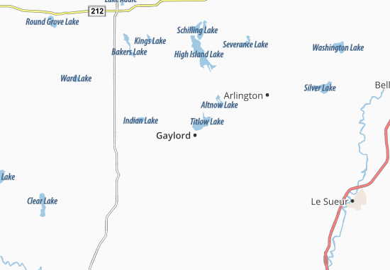 Gaylord Map