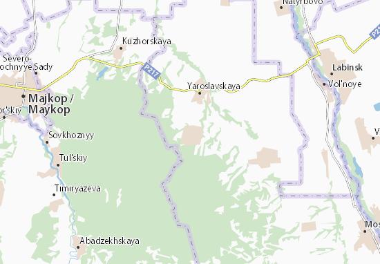 Makhoshevskaya Map