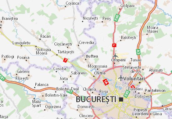 Buftea Map