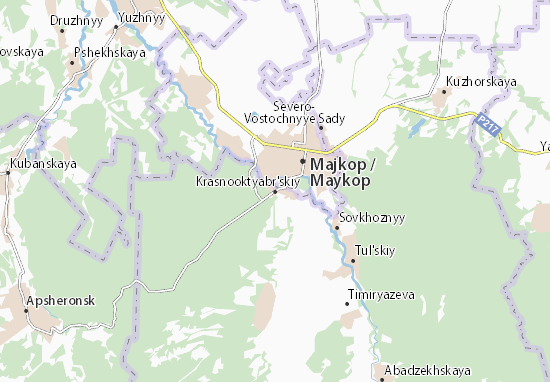 Krasnooktyabr'skiy Map
