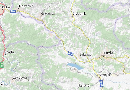 Mappe-Piantine Dobošnica
