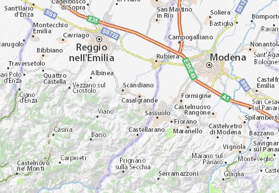 Casalgrande Map