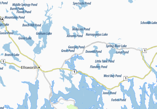 Franklin Map