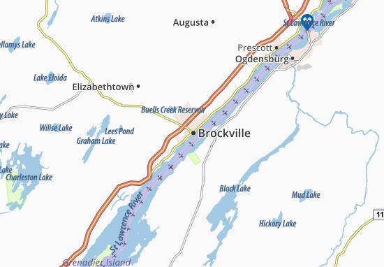 Brockville Map