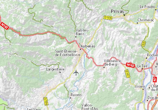 Saint-Étienne-de-Fontbellon Map