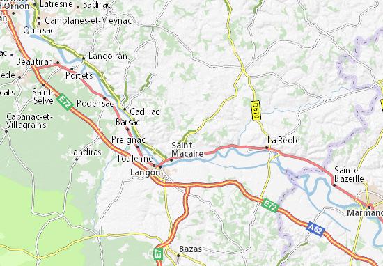 Carte-Plan Saint-André-du-Bois