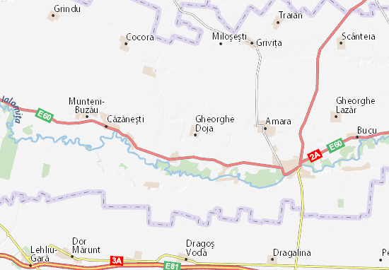 Mapa Plano Gheorghe Doja