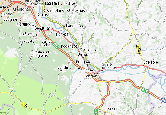 Mapa Plano Barsac