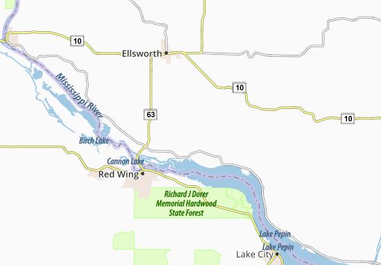 Esdaile Map