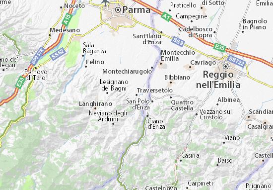 Mappe-Piantine Traversetolo