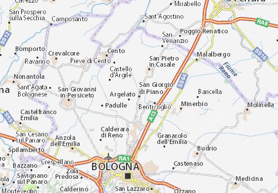 Mapas-Planos San Giorgio di Piano