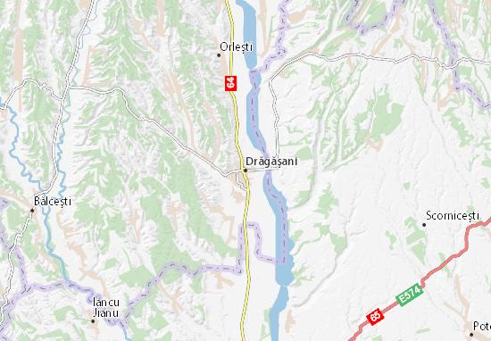 Mapa Plano Drăgăşani