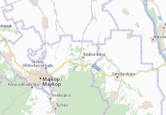 Kuzhorskaya Map