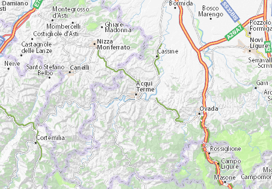 Acqui Terme Map