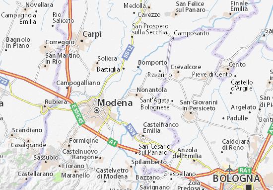 Mappe-Piantine Nonantola