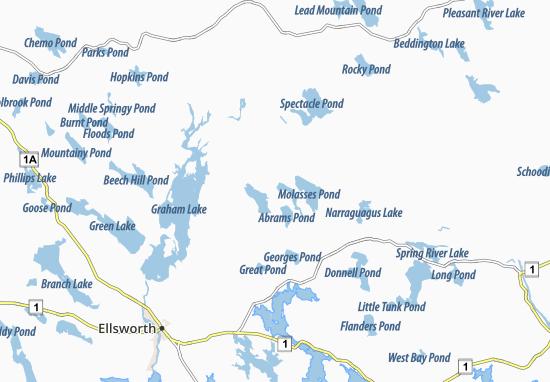 Eastbrook Map