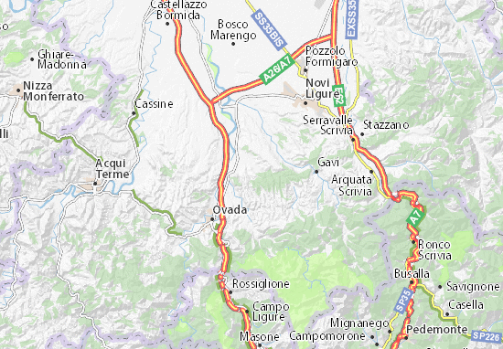 Mappe-Piantine Castelletto d'Orba