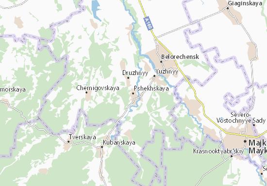 Mappe-Piantine Pshekhskaya