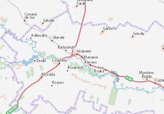 Mappe-Piantine Manasia