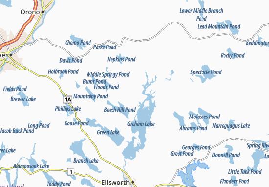Mariaville Map