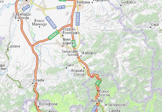 Mappe-Piantine Stazzano