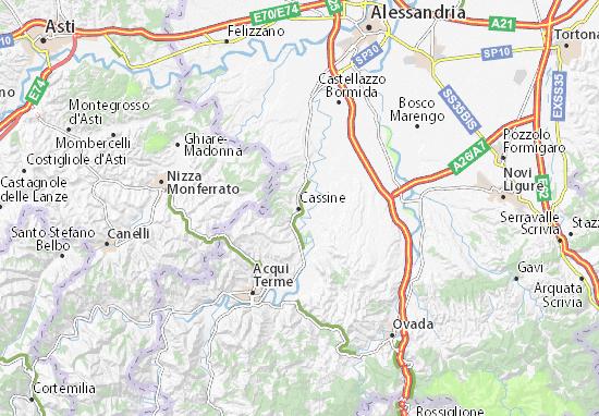 Mapas-Planos Cassine