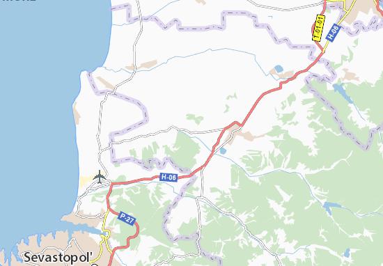 Kaart Plattegrond Dolynne