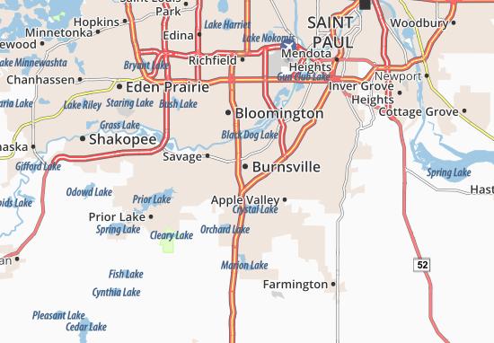 Burnsville Map
