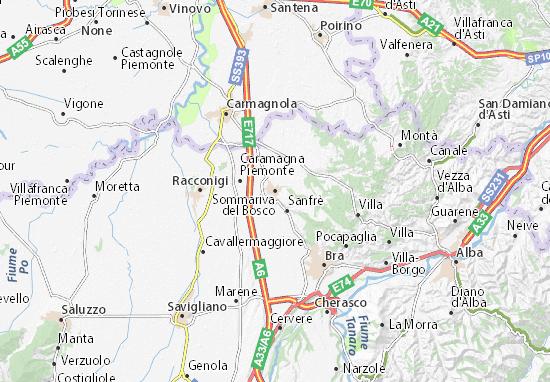 Mappe-Piantine Sommariva del Bosco