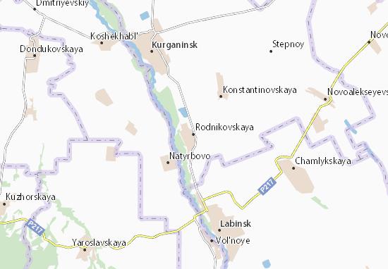 Rodnikovskaya Map
