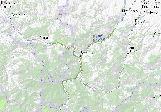 Mappe-Piantine Bobbio