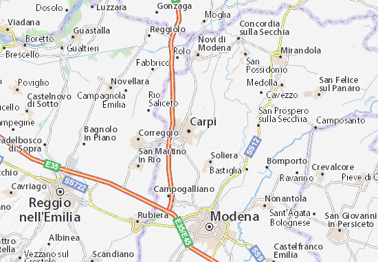 Carte-Plan Carpi