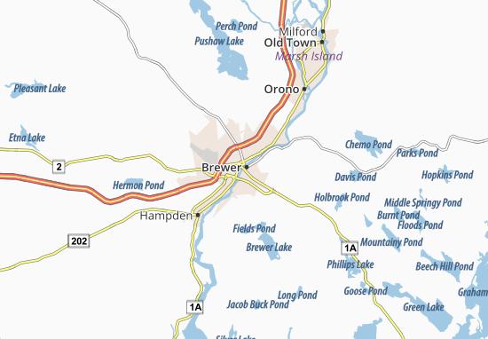 Mapas-Planos Brewer