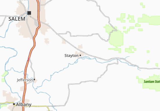 Stayton Map