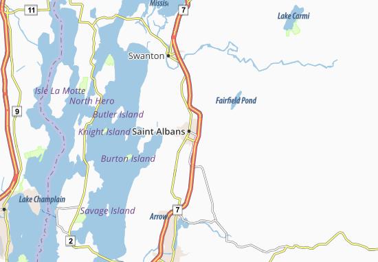 Saint Albans Map
