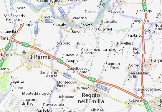 Mappe-Piantine Castelnovo di Sotto