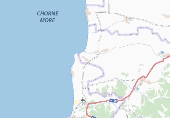 Mapa Plano Uhlove