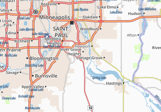 Mappe-Piantine Inver Grove Heights