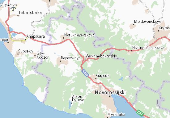 Verkhnebakanskiy Map