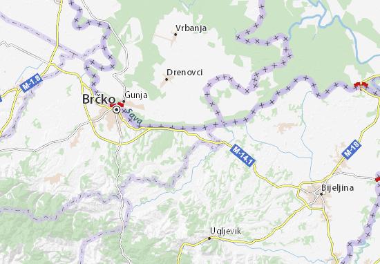 Mapas-Planos Brezovo Polje