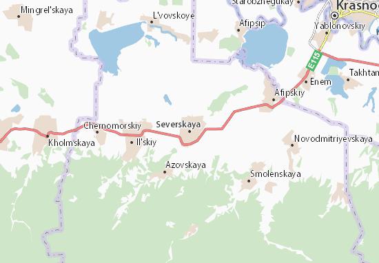 Severskaya Map