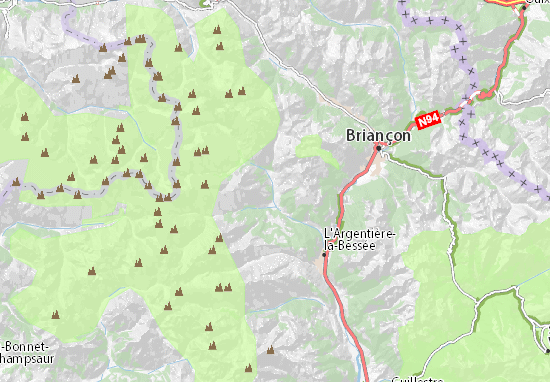 Mappe-Piantine Pelvoux