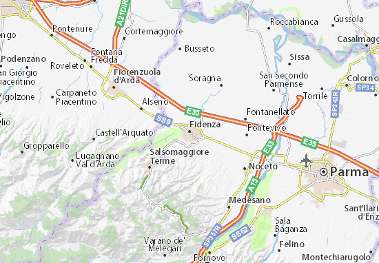 Carte-Plan Fidenza