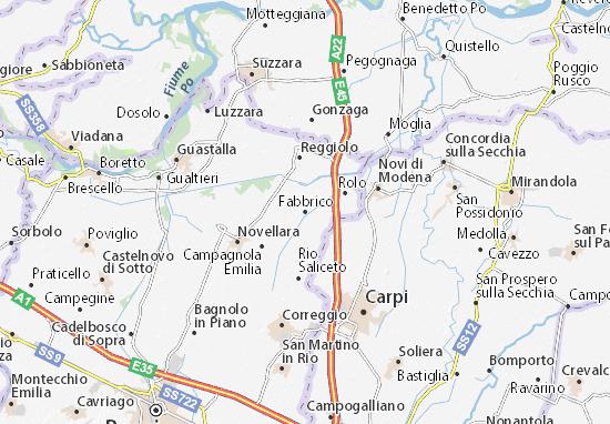 Fabbrico Map