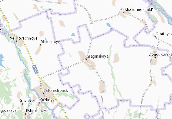 Carte-Plan Giaginskaya