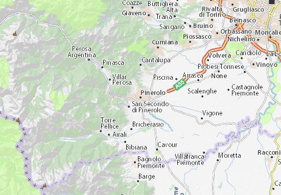 Mappe-Piantine Pinerolo